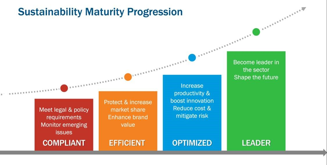 Sustainability Maturity Progression