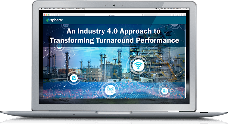 An Industry 4.0 Approach to Transforming Turnaround Performance