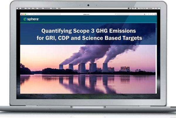Laptop -Quantifying Scope 3 GHG Emissions