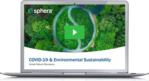COVID-19 & Environmental Sustainability – Virtual Podium Discussion