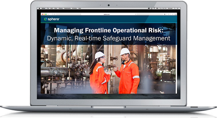 Managing Frontline Operational Risk: Dynamic, Real-time Safeguard Management