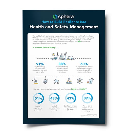 How to Build Resilience into Health & Safety Management