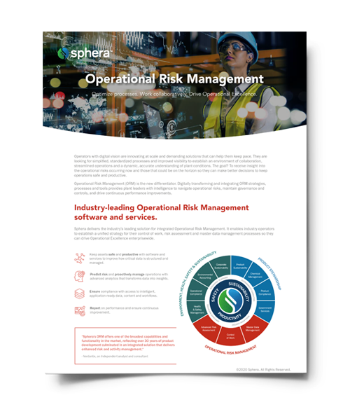 Operational Risk Management Software Brochure